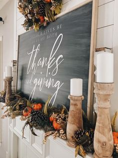 To Decorate Your Mantel For Fall In 3 Easy Steps Plus, 30 other Stunning Fall Mantel Decor Ideas as well!How To Decorate Your Mantel For Fall In 3 Easy Steps Plus, 30 other Stunning Fall Mantel Decor Ideas as well! Fall Mantel Decorations, Thanksgiving Decorations, Seasonal Decor, Holiday Decor, Thanksgiving Mantle, Autumn Mantel, Fall Mantels, Mantle Ideas, Mantel Styling