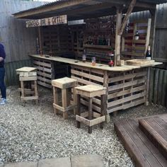 Making the Ultimate Garden Bar