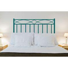 Decora tu dormitorio de la manera más original gracias a estos cabeceros de cama de vinilo adhesivo. Puedes elegir entre cualquiera de los colores de nuestra gama y entre varios tamaños. http://www.lafabricadevinilo.com/cabeceros-de-vinilo/248-cabecero-3-vinilos-hogar.html