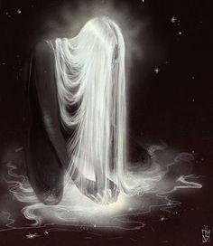 'Bioluminescence'. Beautiful digital art from artist Janey-Jane on @deviantart