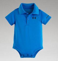 Boys' Newborn UA Polo Bodysuit
