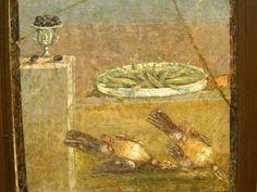 Olives | Peas | Birds | Mediterranean Diet | Pompeii, Italy