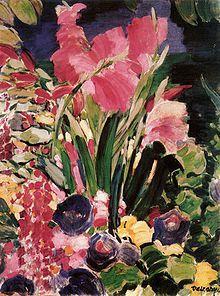 herzogtum-sachsen-weissenfels: Vaszary János (Hungarian, Gladioli, Oil on canvas, 86 x 65 cm. Art Folder, Flower Painting, Graphic Artist, Photo Art, Lovers Art, Eclectic Art, Painting, Painting Reproductions, Art