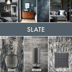 Whether glamoured up or toned down, slate-toned Surya accessories pair well with this functional neutral and can bring great warmth and depth to an interior space.