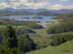 Bay of Islands, New Zealand - plein air painting by Samuel Earp. This painting is for sale Source by Still Life Oil Painting, Oil Painting For Sale, Online Painting, Oil Pastel Paintings, Seascape Paintings, Landscape Art, Landscape Paintings, Landscapes, Oil Painting Supplies