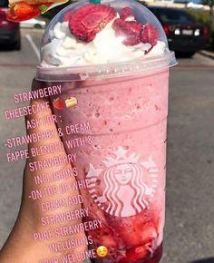 starbucks drinks to try starbucks drinks . starbucks drinks to try . Starbucks Frappuccino, Starbucks Diy, Bebidas Do Starbucks, Healthy Starbucks Drinks, How To Order Starbucks, Starbucks Secret Menu Drinks, Yummy Drinks, Starbucks Strawberry Frappuccino, Oreo Dessert