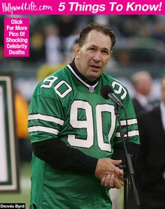 7bb55130044 Dennis Byrd  5 Things To Know About The Former Jets Star Who Was Killed In  A Car Crash