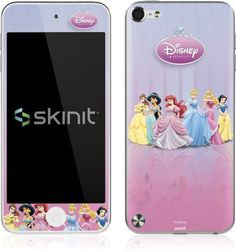 Skinit Disney Princesses at the Ball Vinyl Skin for Apple iPod Touch (5th Gen/2012) by Skinit. $11.99. IMPORTANT: Skinit skins, stickers, decals are NOT A CASE. Our skins are VINYL SKINS that allow you to personalize and protect your device with form-fitting skins. Our adhesive backing can be applied and removed with no residue, no mess and no fuss. Skinit skins are engineered specific to each device to take into account buttons, indicator lights, speakers, unique cu...