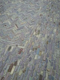 Bestrating / pavement idea oude waaltjes