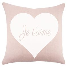 Je T'aime Pillow - The Atelier on Joss & Main