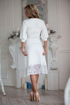 Купить или заказать Платье 'Gipure' в интернет-магазине на Ярмарке Мастеров…