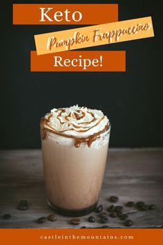 This Keto Pumpkin Spice Frappuccino Recipe smooths the path to changing leaves, sweaters and cinnamon pumpkin deliciousness like a dream. Pumpkin Spice Frappuccino, Frappuccino Recipe, Pumpkin Spice Latte, Pumpkin Puree, Changing Leaves, Dairy Free Options, Gordon Ramsay, Canned Pumpkin, Jamie Oliver