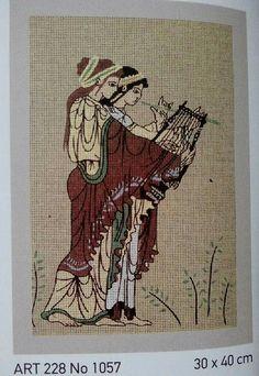 .Με θέματα εμπνευσμένα απο την Αρχαία Ελλάδα οι πίνακες αυτοί, θα κεντηθούν σταυροβελονιά ή γκομπλέν...προσοχή μόνο στο γκομπλέν μην στραβώσει το εργόχειρο.Χρησιμοποιήστε τελάρο. Θα κεντήσετε με μουλινέ DMC 4κλωνο, για να γεμίσει καλύτερα=0.85 ευρώ το τεμάχιο, ή κοτόν περλέ της προσφοράς μας με 1 ευρώ..(περιορισμένα χρώματα) Κόστος δέματος:1.50 ευρώ με ΕΛ.ΤΑ. Γιούλη Μαραβέλη-Χαλκίδα.Τηλ:22210 74152. Greek Pattern, Greek Design, Ancient Greece, Cross Stitching, Moose Art, Embroidery, Animals, Needlepoint, Flowers