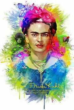 Frida E Diego, Diego Rivera, Freida Kahlo, Kahlo Paintings, Disney Silhouettes, Pop Culture Art, Collage, Female Art, Canvas