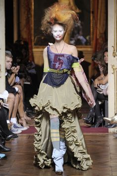 Rococo Inspired ~ Vivienne Westwood #rococco return