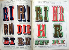 Some wood type for the weekend I stumbled across... | Type Worship