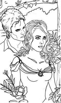 Gothic vampire coloring pages for adults coloring pages for Vampires coloring pages