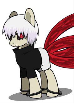 Kaneki ken My Little Pony version