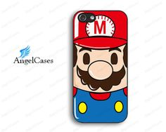 cute mario iphone 5 case cute iphone 4 case cartoon by Angelcases, $7.99