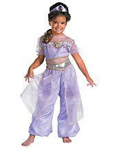 Aladdin Jasmine Deluxe Toddler/Child Costume [Aladdin Costume - Children's Cos] - In Stock Costume Aladdin, Disney Jasmine Costume, Costume Princesse Disney, Jasmine Halloween Costume, Princess Jasmine Costume, Disney Princess Costumes, Disney Princess Jasmine, Disney Princess Party, Disney Costumes