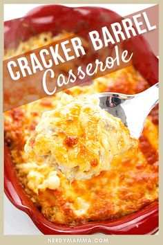 When it comes to hashbrown casserole this classic Cracker Barrel Hashbrown Casserole is what it is known for. Creamy, crisp and just like what mom used to take us out to enjoy on a rare Cracker Barrel night! LOL! Cracker Barrel Hashbrown Casserole, Hashbrown Casserole Recipe, Beef Casserole Recipes, Hash Brown Casserole, Make Ahead Breakfast Casserole, Brunch Casserole, Best Breakfast Recipes, Breakfast Ideas, Side Dishes Easy