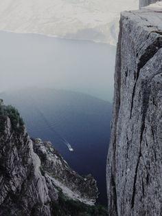 From the top of Preikestolen Rock, Norway | Ryan Caven