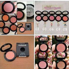 Mat rumenila - 6,95KM A u ponudi su još 3 nijanse u ograničenim količinama. (2, 10, 12) Požurite sa vašim željicama, za sva pitanja tu je DM.  Narudžbu šaljem u petak! #cantwait #makeup #farmasi #blushon