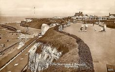 Kent, Cliftonville, Promenade and Bungalow late 1920's.