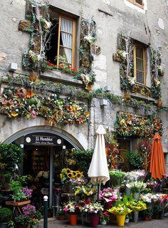 J.J. Humblot Florists, Annecy, France