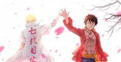 Naruto and Luffy