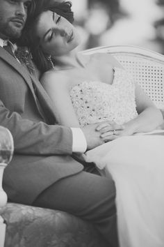 newlywed bliss in black and white