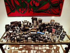 What a collection of cameras!
