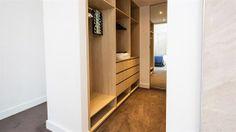 bedroom walk-in wardrobe