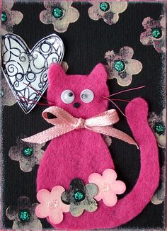 Felt Cat 1 by timbrettopoli, via Flickr