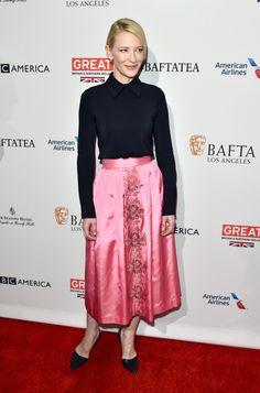 El ajustado duelo de estilo entre Cate Blanchett y Rooney Mara a pocas horas de la alfombra roja de los #GoldenGlobes