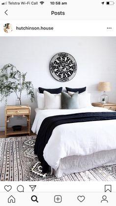 50 Modern Farmhouse Bedroom Decor Ideas Makes You Dream Beautiful In 2019 – - Home Decoraiton White Interior Design, Apartment Interior Design, Modern Interior, Scandinavian Interior, Interior Ideas, Interior Paint, Luxury Interior, White House Interior, Flat Interior