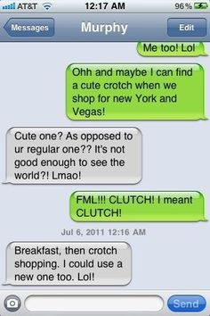 Crotch shopping