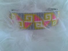 bracelet manchette coloré pour prolonger l'été : Bracelet par yedura