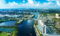 Some of the best-known recent communities include Bellaria, on the ocean in Palm Beach, Renaissance, on the ocean in Hollywood, and Le Rive, on the Intracoastal in Ft. Lauderdale.