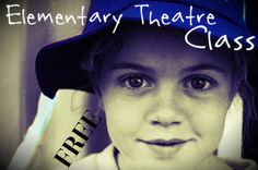 Free Elementary Theater Class, teach your homeschoolers about what goes into making a play!