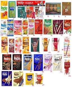 Pocky Flavours Galore