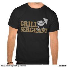 BBQ Grill Sergeant Shirt