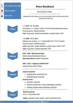 Pro-CV 4. vzor žena. Více informací zde http://www.pro-cv.cz/produkt/pro-cv-4-vzor-zena/