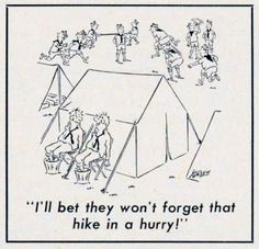 Ever witnessed a camp-cooking mishap, chaotic den meeting or Scoutmaster slip-up? In that sense, you're a lot like Scouters from 50 years ago, as evidenced by the collection of 33 Boy Scouts of America cartoons printed Scout Mom, Cub Scouts, Girl Scouts, Boy Scout Badges, Cub Scout Crafts, Beaver Scouts, Snoopy Cartoon, Scouts Of America, Camping Humor