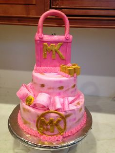 1000+ ideas about Michael Kors Cake on Pinterest ...