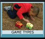 Lots of file folder games to create for toddlers.  Would be great for car rides.