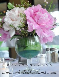 Photos from wholeblossoms on Myspace Buy Peonies, Glass Vase, Wedding Decorations, Beautiful, Home Decor, Decoration Home, Room Decor, Wedding Decor, Interior Design