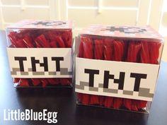 Minecraft Birthday Party » Little Blue Egg