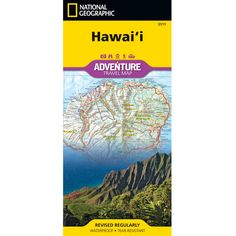 Hawaii Adventure Map | National Geographic Store