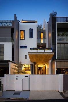 Original Design Maximizing Tight Spaces: House at Poh Huat Road in Singapore - http://freshome.com/original-design-maximizing-tight-spaces-house-at-poh-huat-road-singapore